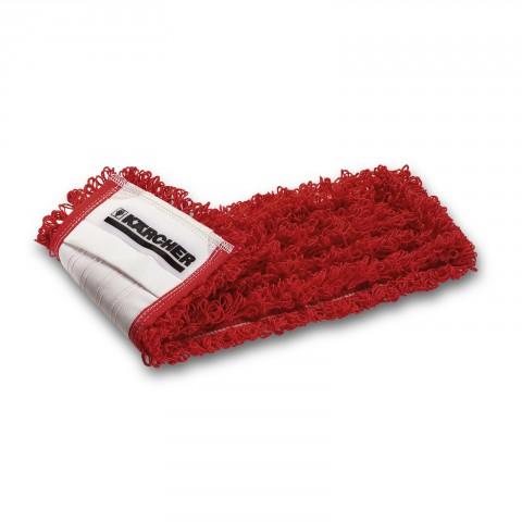 Czerwony pętelkowy mop z mikrofibry ECO!