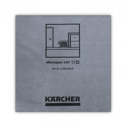 Mikrofibra niebieska gładkie włókno 37,5x38cm