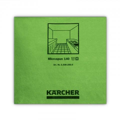Mikrofibra zielona gładkie włókno 37,5x38cm