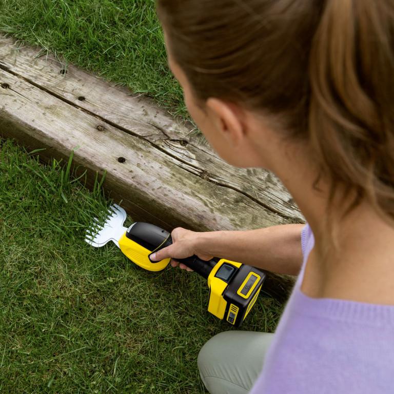 Akumulatorowe nożyce do trawy
