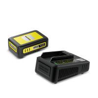 Zestaw: Szybka ładowarka + akumulator Kärcher 18V / 2,5 Ah