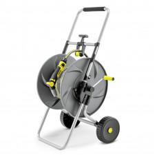 """Metalowy wózek na wąż HT 80 M w zestawie 1/2"""""""