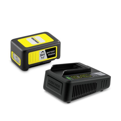 Zestaw: Szybka ładowarka + akumulator Kärcher 36V / 2,5 Ah