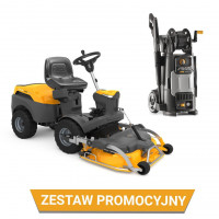 Zestaw: Traktor ogrodowy Park 320 PW + Agregat Park 95 Combi EL QF + myjka HPS 345 R