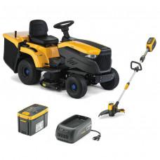 Zestaw promocyjny traktor akumulatorowy e-Ride C500