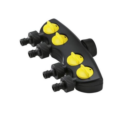 Adapter na kran z 4 wyjściami