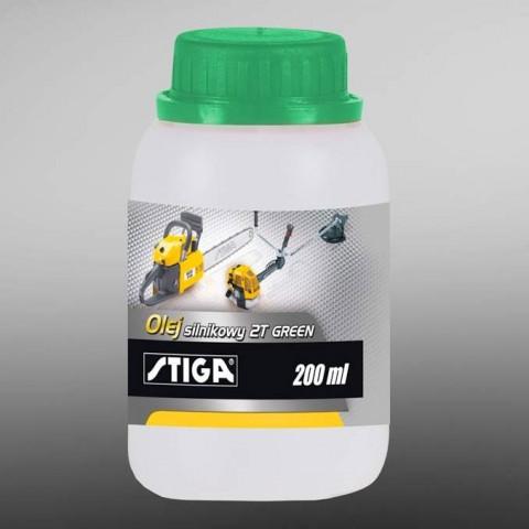 Olej silnikowy 2T GREEN butelka 200ml