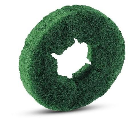 Pady walcowe zielone