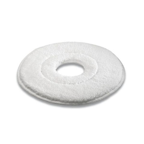 Pady z mikrofibry białe, 330 mm