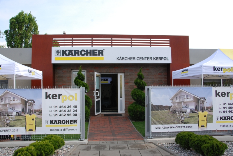Karcher Center Kerpol na zewnątrz